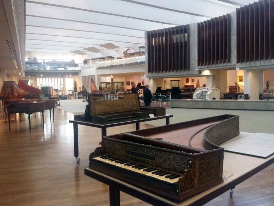 Musikinstrumentenmuseum Berlin. Foto: Kirsten Andersen