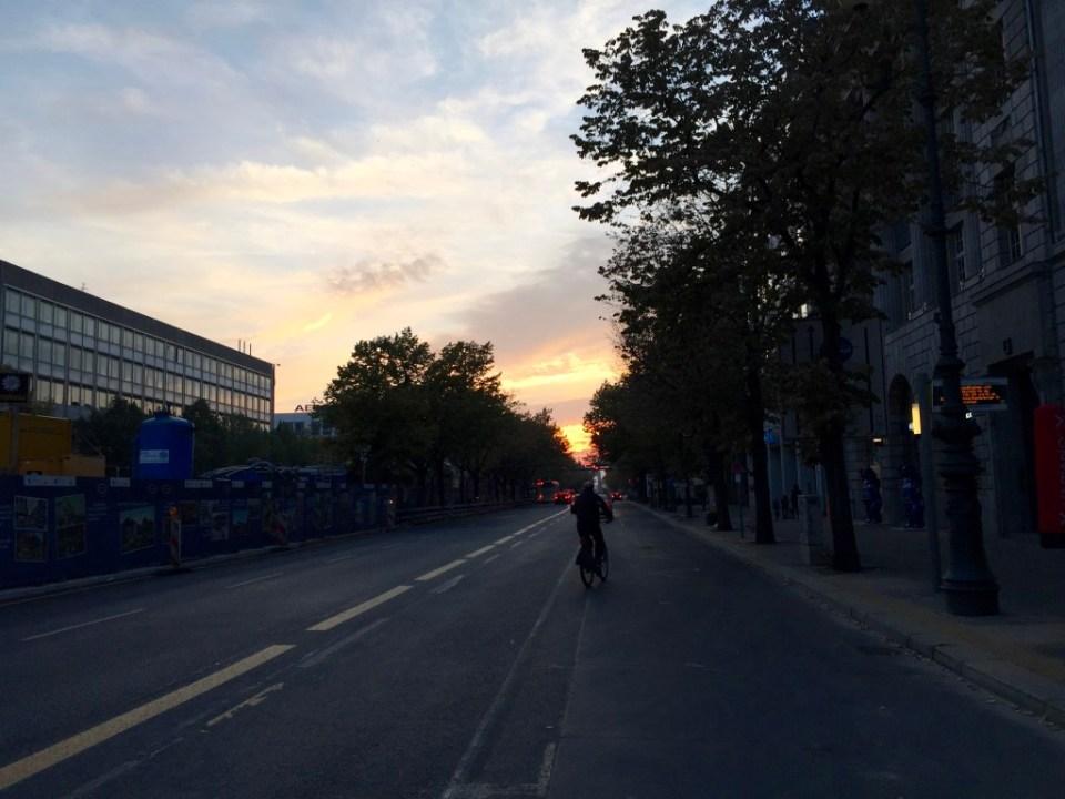 Unter den Linden oktober 2015. Foto: Kirsten Andersen