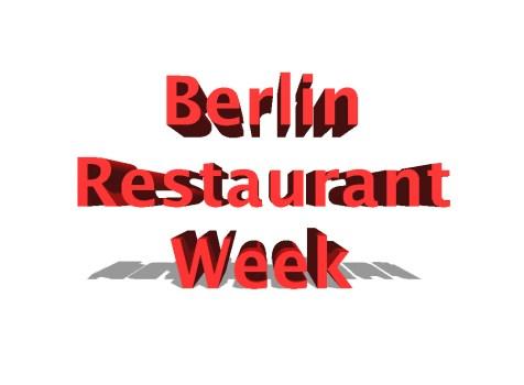 Berlin Restaurant Week 2016