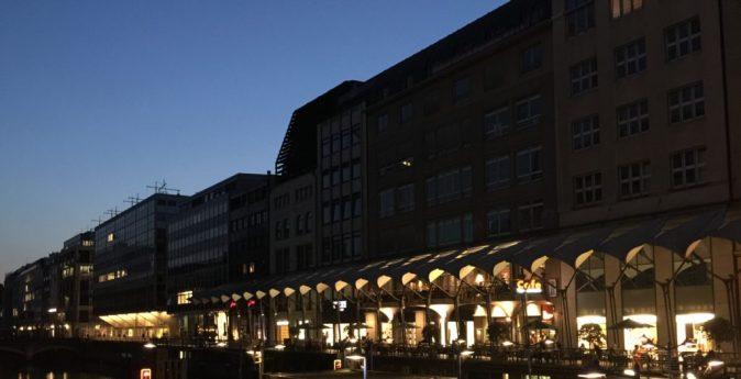 Rathausarkaden, Hamborg. Foto: Kirsten Andersen
