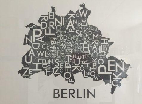 Chokoladeportræt af Berlins Bezirker