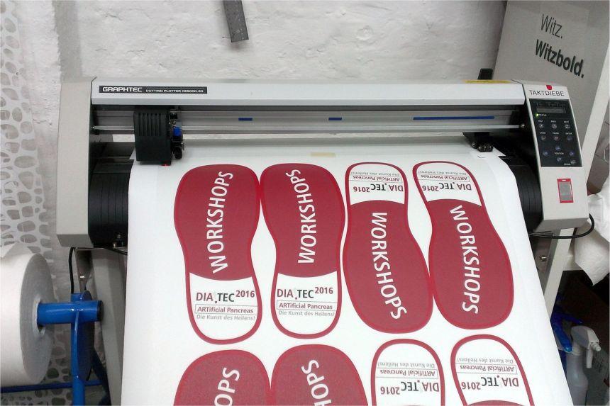 Floor Graphics printing