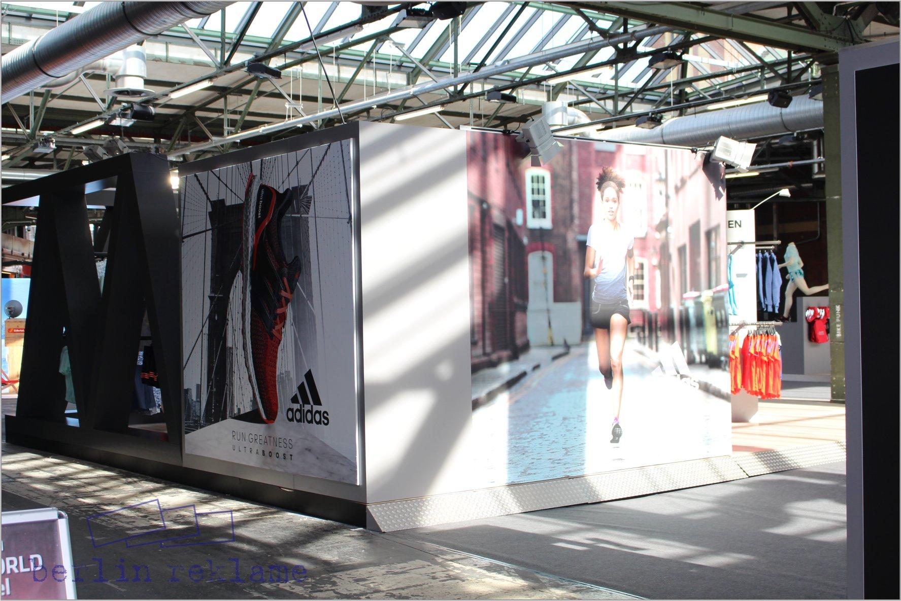 adidas messestand bei der berlin vital messe bmw berlin marathon. Black Bedroom Furniture Sets. Home Design Ideas