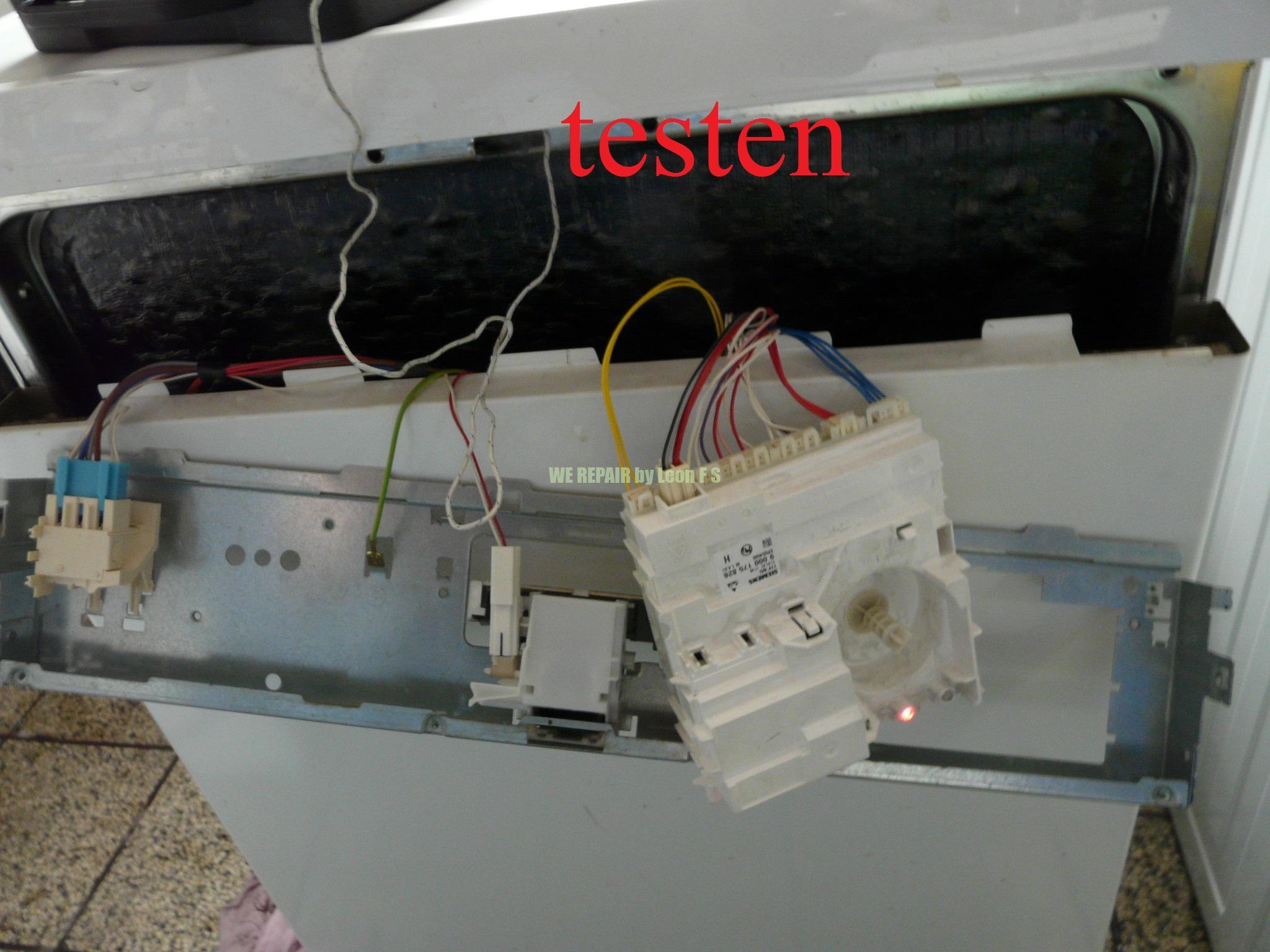 Super Siemens Geschirrspüler Ohne Strom | Siemens Sn214w00ae Stand TD41