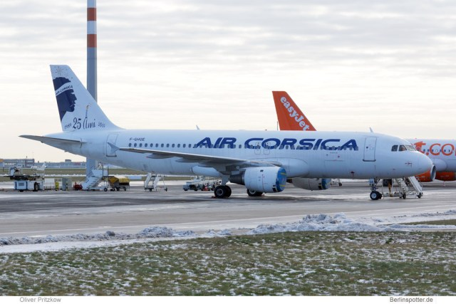 Air Corsica, Airbus A320-200 F-GHQE (© O. Pritzkow)