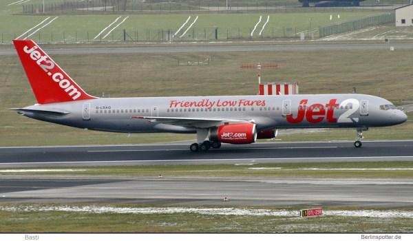 Jet2.com Boeing 757-200 G-LSAG