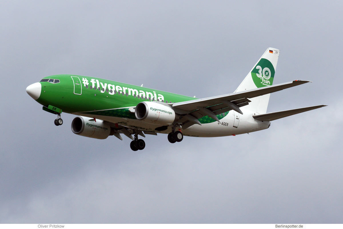 Germania Boeing 737-700 D-AGER
