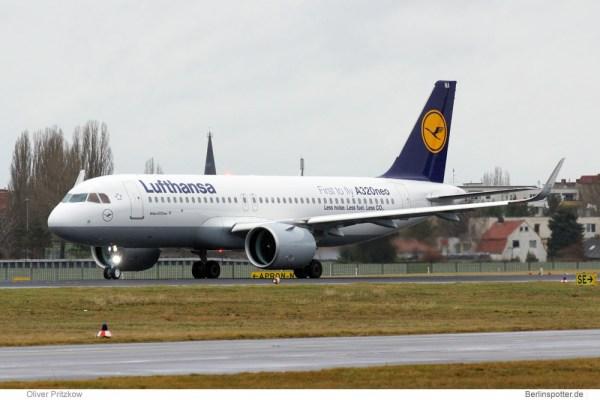 Lufthansa Airbus A320neo D-AINA (© O. Pritzkow)