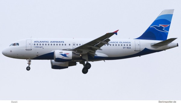 Atlantic Airways Airbus A319-100 OY-RCH (© Basti)