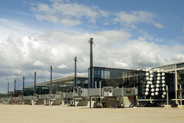Vorfeld am Flughafen BER (© O. Pritzkow)