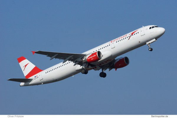 Austrian Airlines, Airbus A321-200 OE-LBA (© O. Pritzkow)