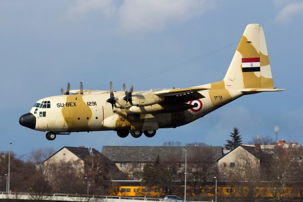 Egypt Air Force, Lockheed C-130 Hercules SU-BEX 1291