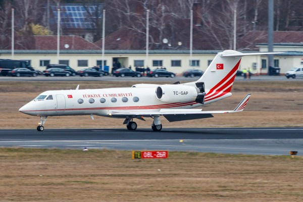 Turkey Gvmt Gulfstream IV TC-GAP (© Jonas)