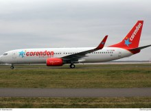 Corendon Airlines Boeing 737-800(WL) TC-TJO