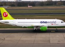 S7 Airlines Airbus A319-100 VP-BTN