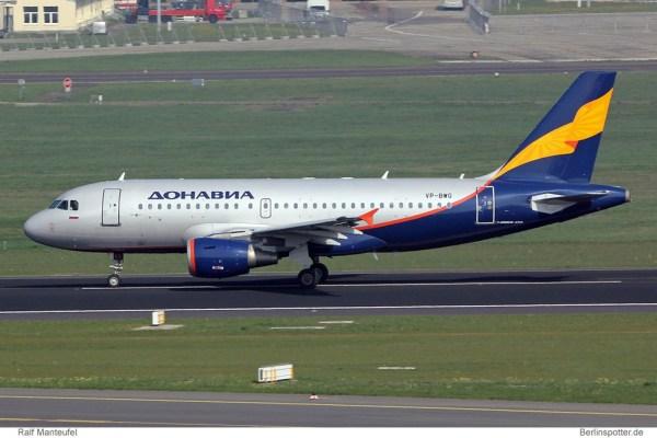 Donavia Airbus A319-100 VP-BWG