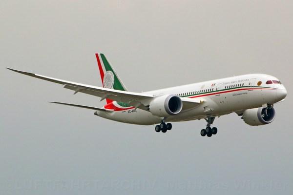 Mexico Gvmt. Boeing 787-8 XC-MEX