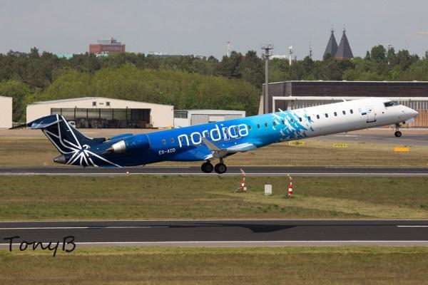 Nordica Bombardier CRJ900ER ES-ACD