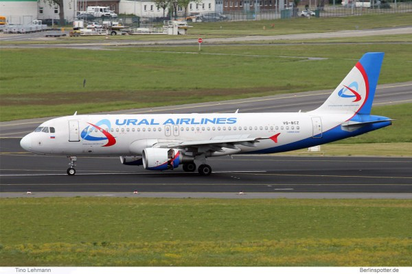 Ural Airlines Airbus A320-200 VQ-BCZ