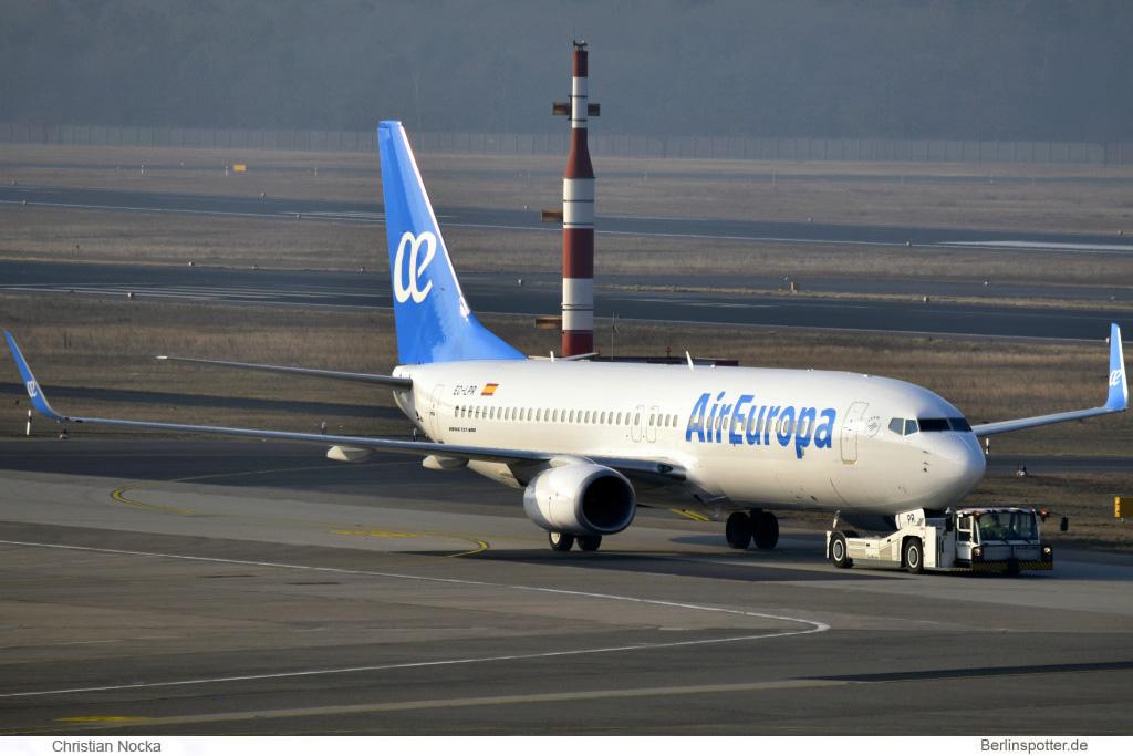 Air Europa Boeing 737-800(WL) EC-LPR
