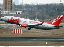 Boeing 737-300(WL) G-CELH (SXF 7.3. 2017)