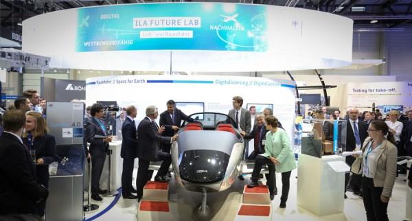 """Das weiter entwickelte ILA 2018-Konzept fokussiert die Themen """"Innovationen"""", """"neue Technologien"""" und """"Nachhaltigkeit"""". (© obs/Messe Berlin GmbH/Messe Berlin - Hans Scherhaufer)"""