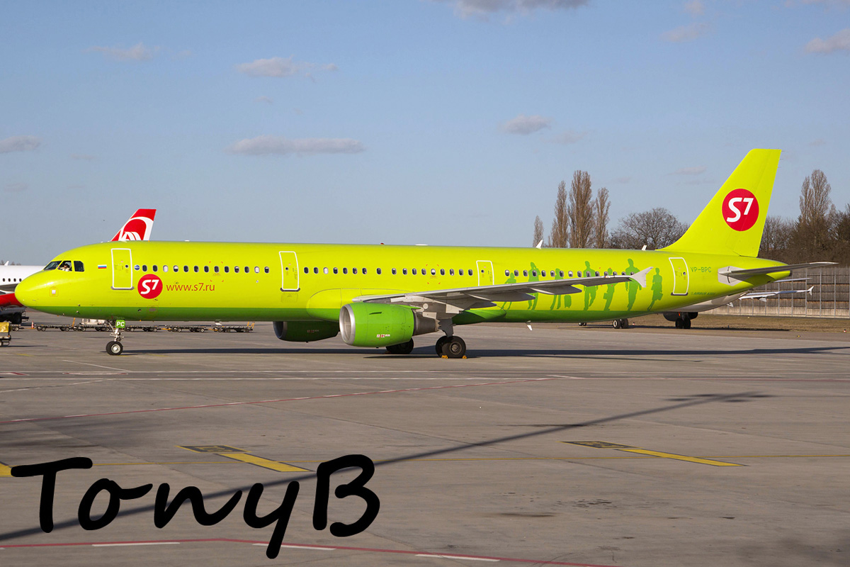 S7 Airlines Airbus A321-200 VP-BPC