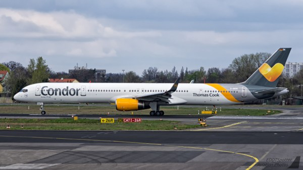 Condor, Boeing 757-300 D-ABOK (TXL 2.4. 2017)