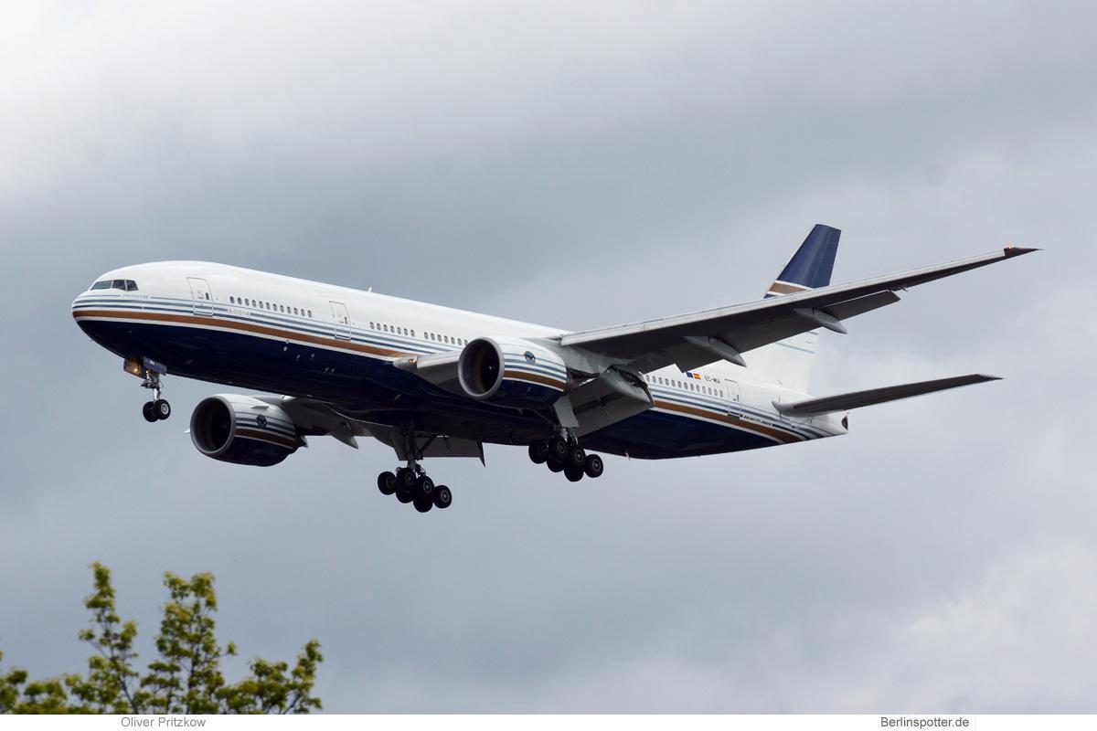Privilege Style Boeing 777-200ER EC-MIA
