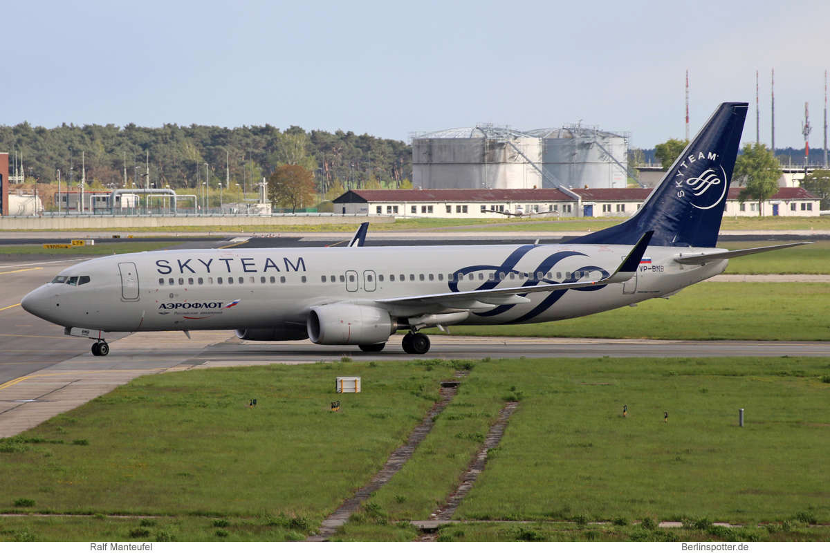 Aeroflot Boeing 737-800(WL) VP-BMB