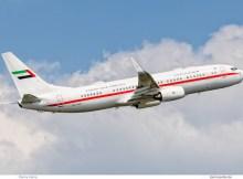 Abu Dhabi Amiri Flight, Boeing 737-800 (BBJ2) A6-AUH (TXL 22.5. 2017)