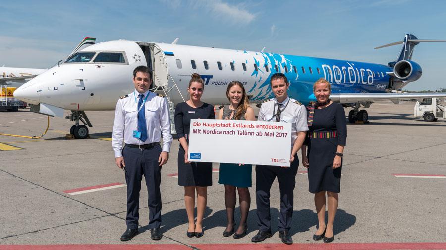 Nordica verbindet Tallinn wieder mit Berlin