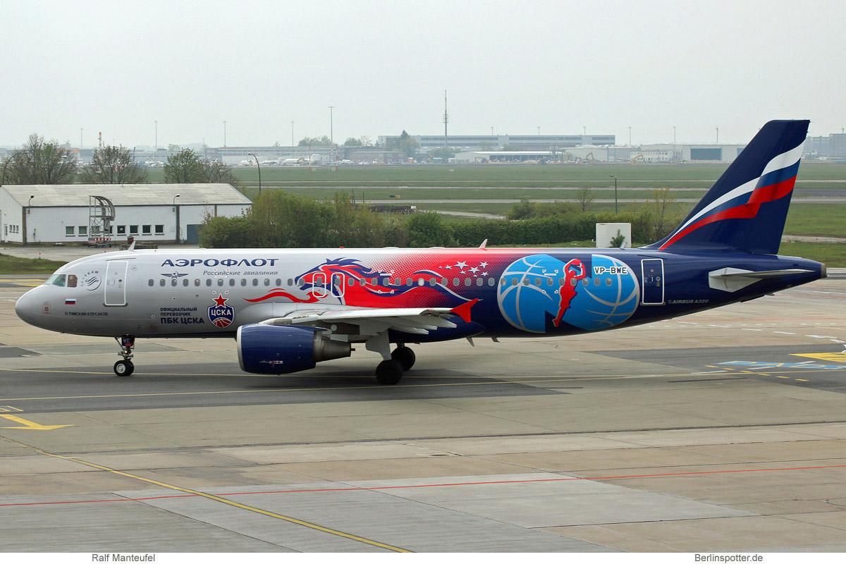 Aeroflot, Airbus A320-200 VP-BWE