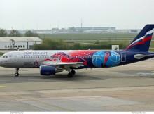 Aeroflot, Airbus A320-200 VP-BWE, PBK ZSKA Moskau-Bemalung (SXF 3.5. 2017)