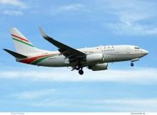 Niger Gvmt., Boeing 737-700(BBJ) 5U-GRN (TXL 11.6. 2017)