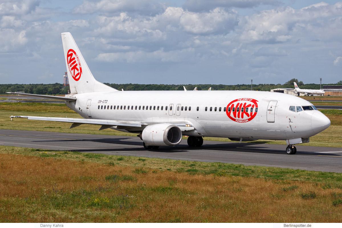 Niki Boeing 737-400 OM-GTD