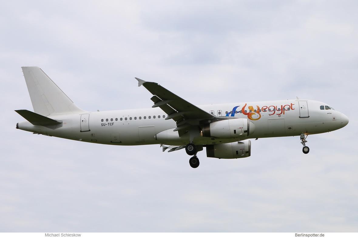 FlyEgypt Airbus A320-200 SU-TCF