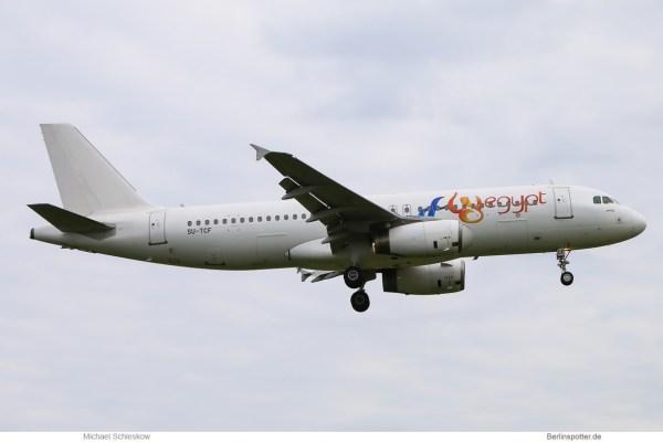 FlyEgypt, Airbus A320-200 SU-TCF (TXL 10.6. 2017)