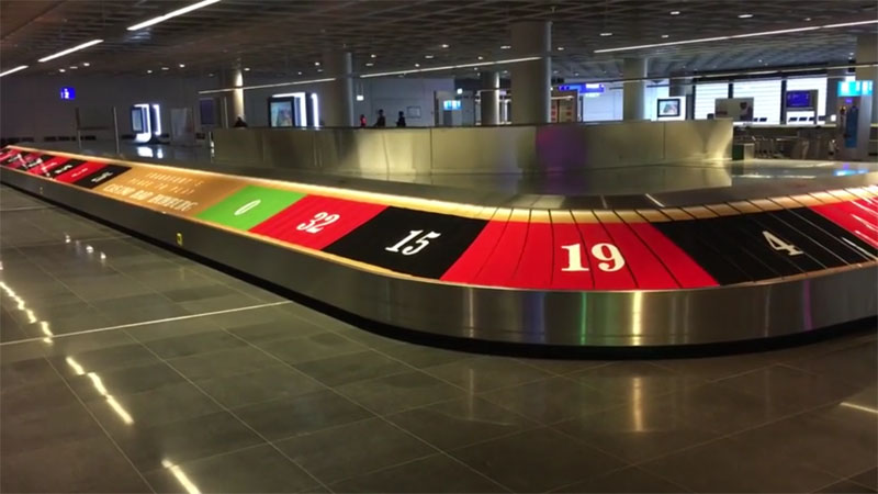 Casinos am Flughafen machen die Runde