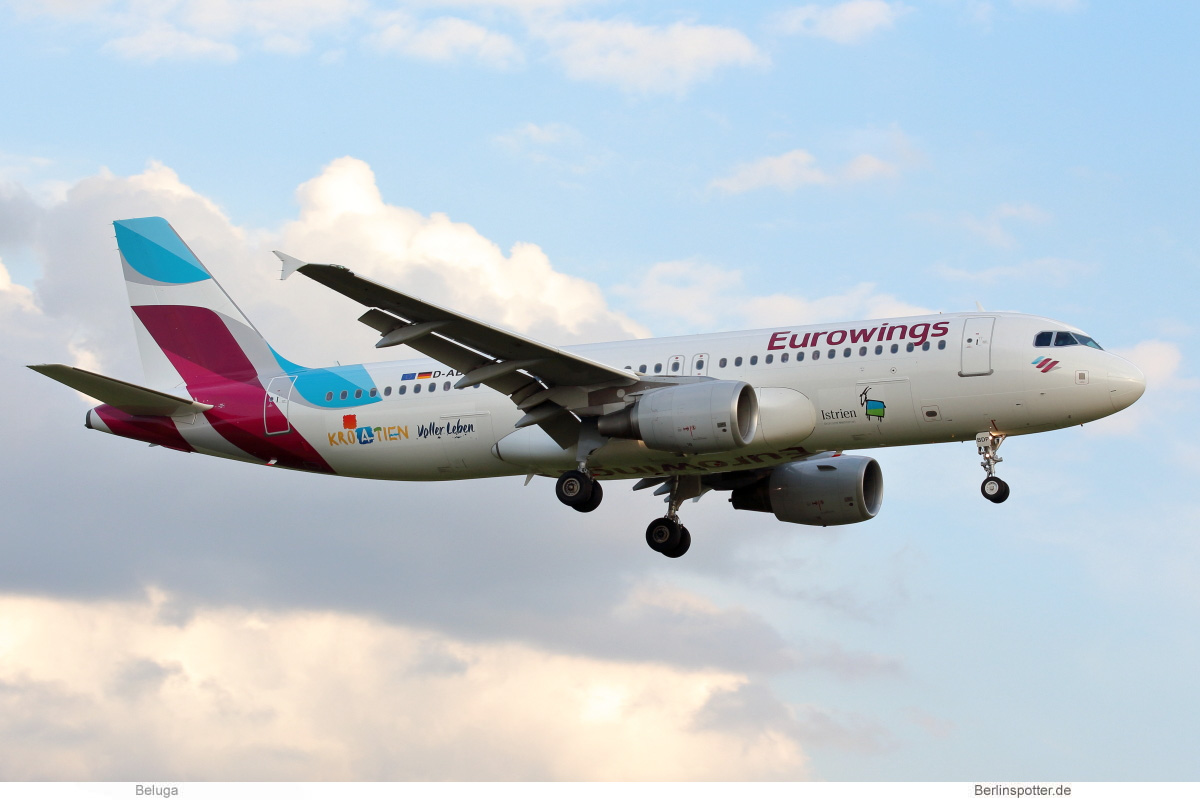 Eurowings Airbus A320-200 D-ABDP
