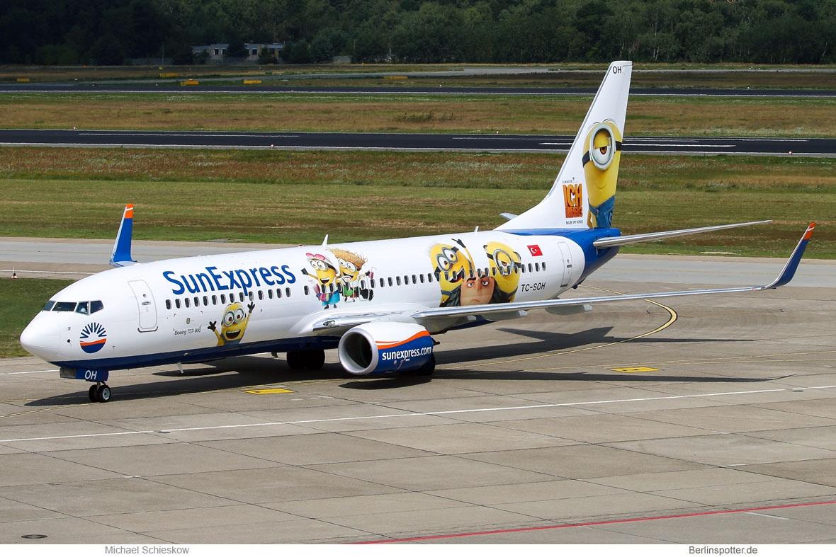SunExpress Boeing 737-800(WL) TC-SOH