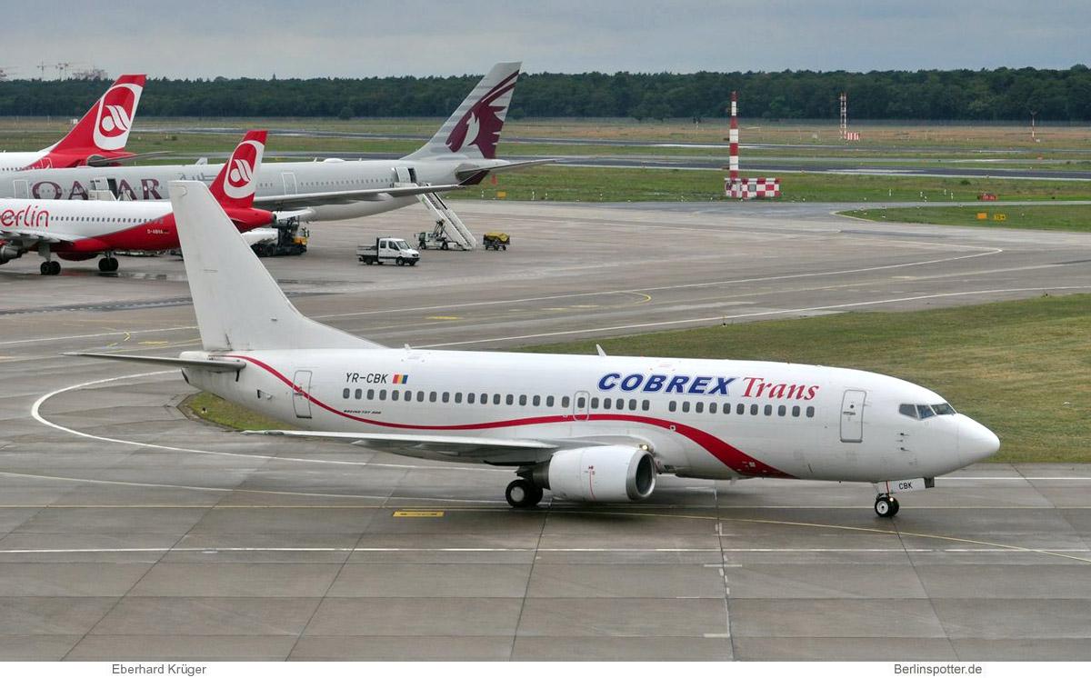 Cobrex Trans, Boeing 737-300 YR-CBK