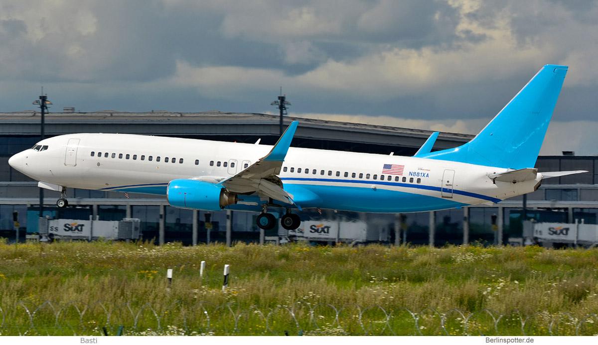 Xtra Airways Boeing 737-800(WL) N881XA