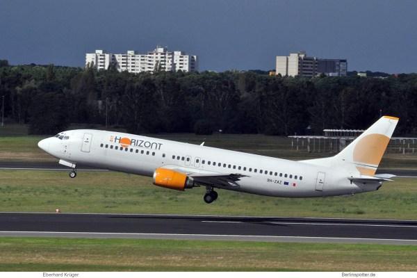 Air Horizont, Boeing 737-400 9H-ZAZ (TXL 13.9. 2017)