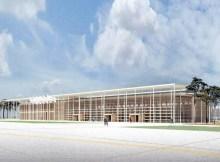 Geplantes Regierungsterminal (Grafik: Busmann Haberer Architekten)