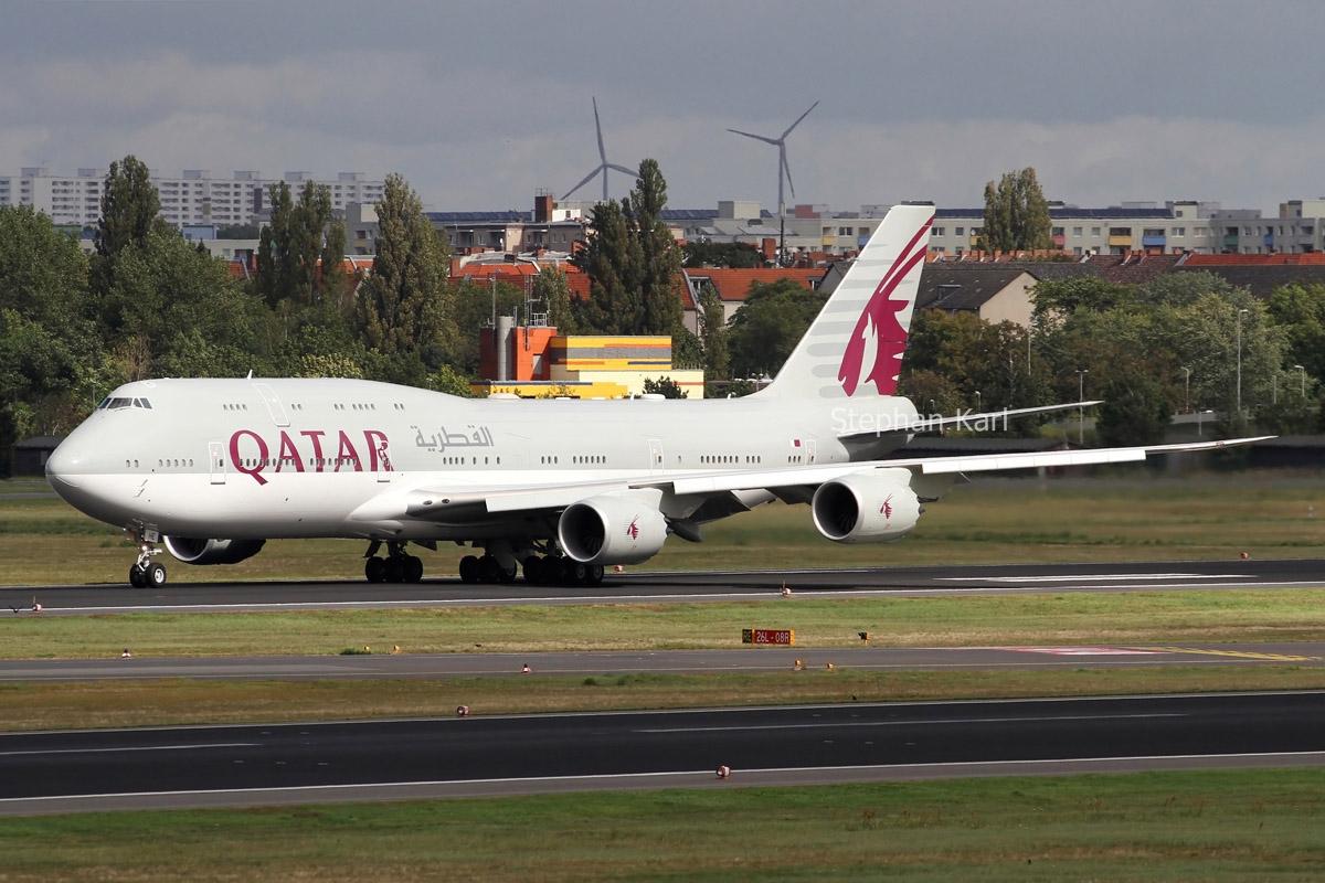 Qatar Amiri Flight Boeing 747-8 (BBJ) A7-HHE