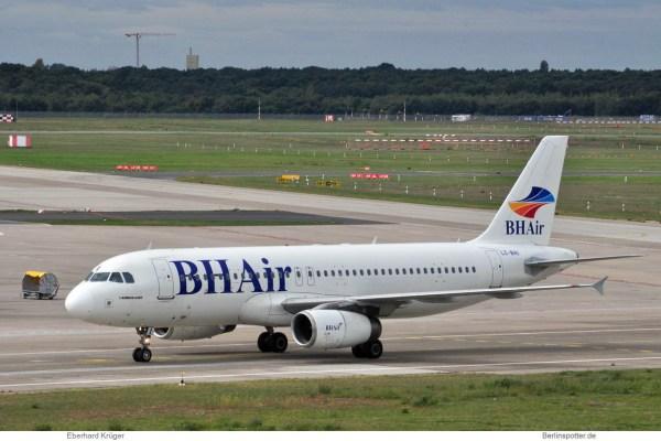 Balkan Holidays (BH Air), Airbus A320-200 LZ-BHI (TXL 11.9. 2017)