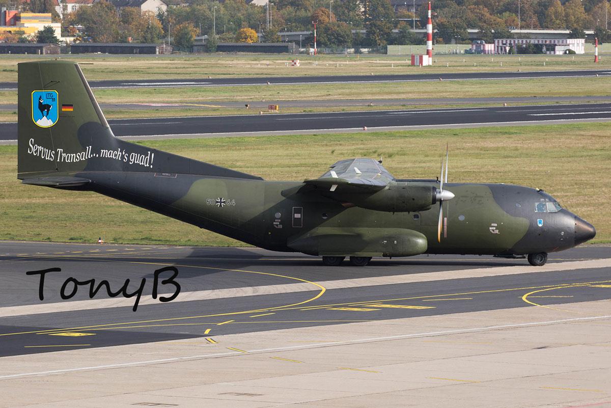 Luftwaffe C-160 Transall 50+64