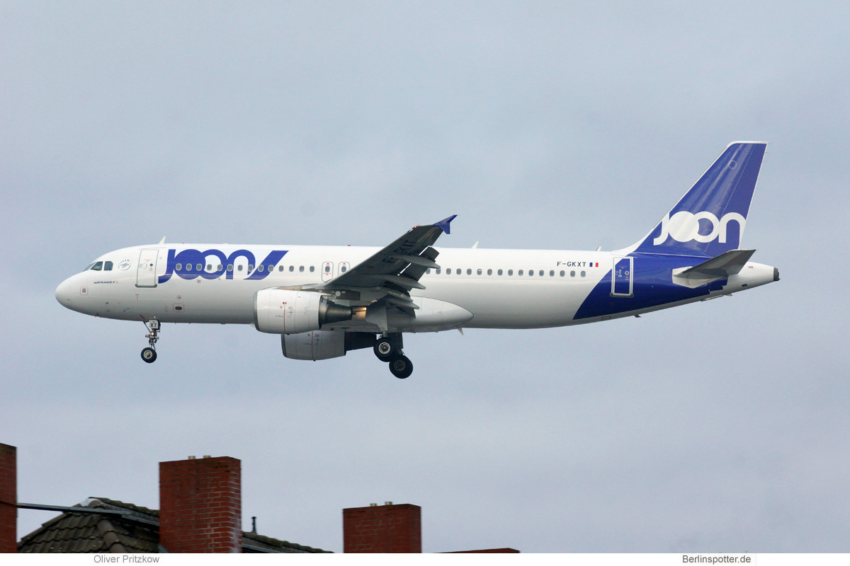 Joon Airbus A320-200 F-GKXT