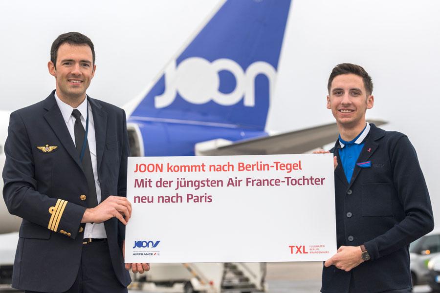 Joon übernimmt Paris-Flüge